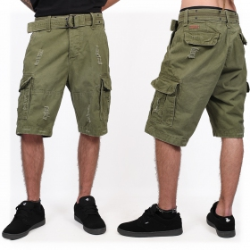 "Short cargo ""Shell Valley\"", Verde caqui"