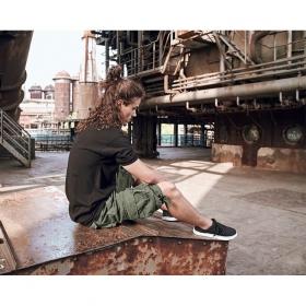 "Short cargo \""Urban Legend\"", Verde caqui"