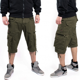 "Short Indian Project ""Linear\"", Khaki"
