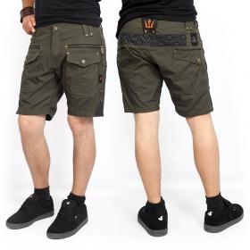 """Shorts \""""Hexa\"""", Verde caqui oscuro"""