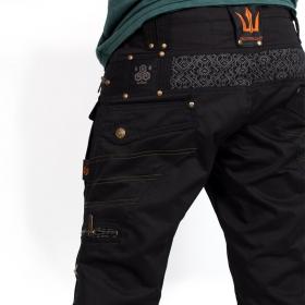 "Shorts \""Shiva\"", Negro"