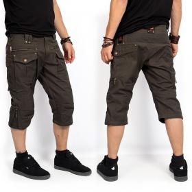 "Shorts 3/4 \""Trishul\"", Verde caqui oscuro"