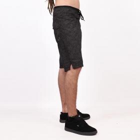 "Shorts de baño \""Kauhoe Shipibo\"", Gris oscuro"