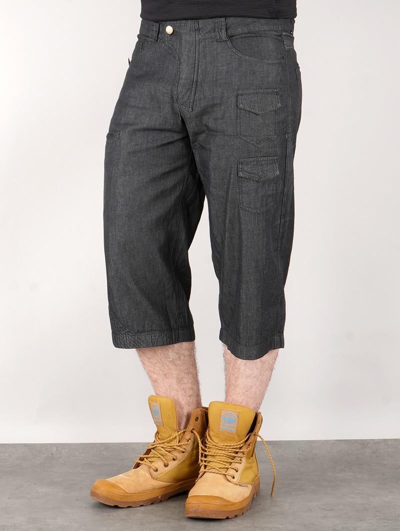 """Shorts vaqueros \""""Hades\"""", Lona gris oscuro"""