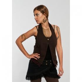 """Skirt \\\""""funky wrap\\\"""", black"""