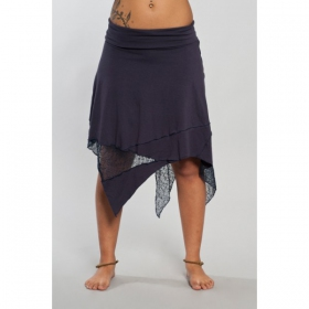 """Skirt \\\""""gitane patch\\\"""", black"""
