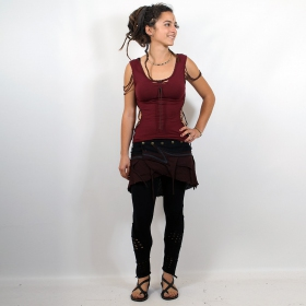 "Skirt \""sadananda\\\"", brown"