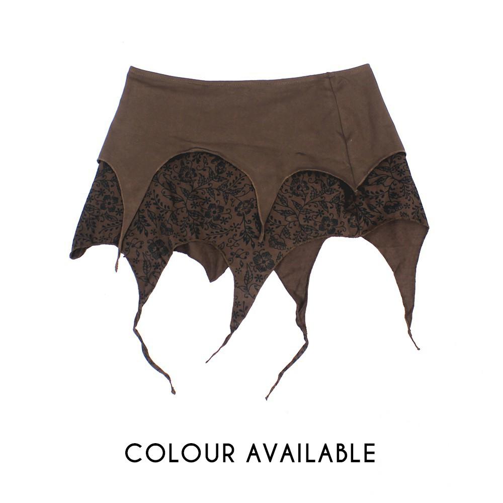 """Skirt """"Sananda"""", Brown"""