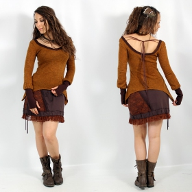 "Skirt Exception \""Pimjaï\\\"", Brown"