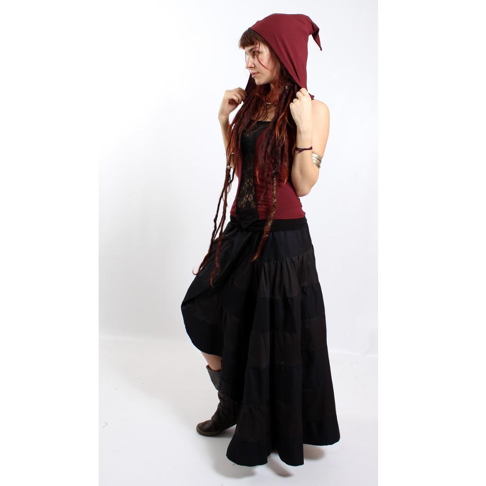 "Skirt liloo \\\""utopia\\\"", black one size"