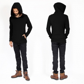 "\""Sphynx\"" sweater, Black"