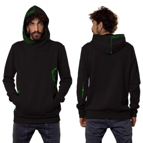 "Sudadera ""Connect\"", Negro"