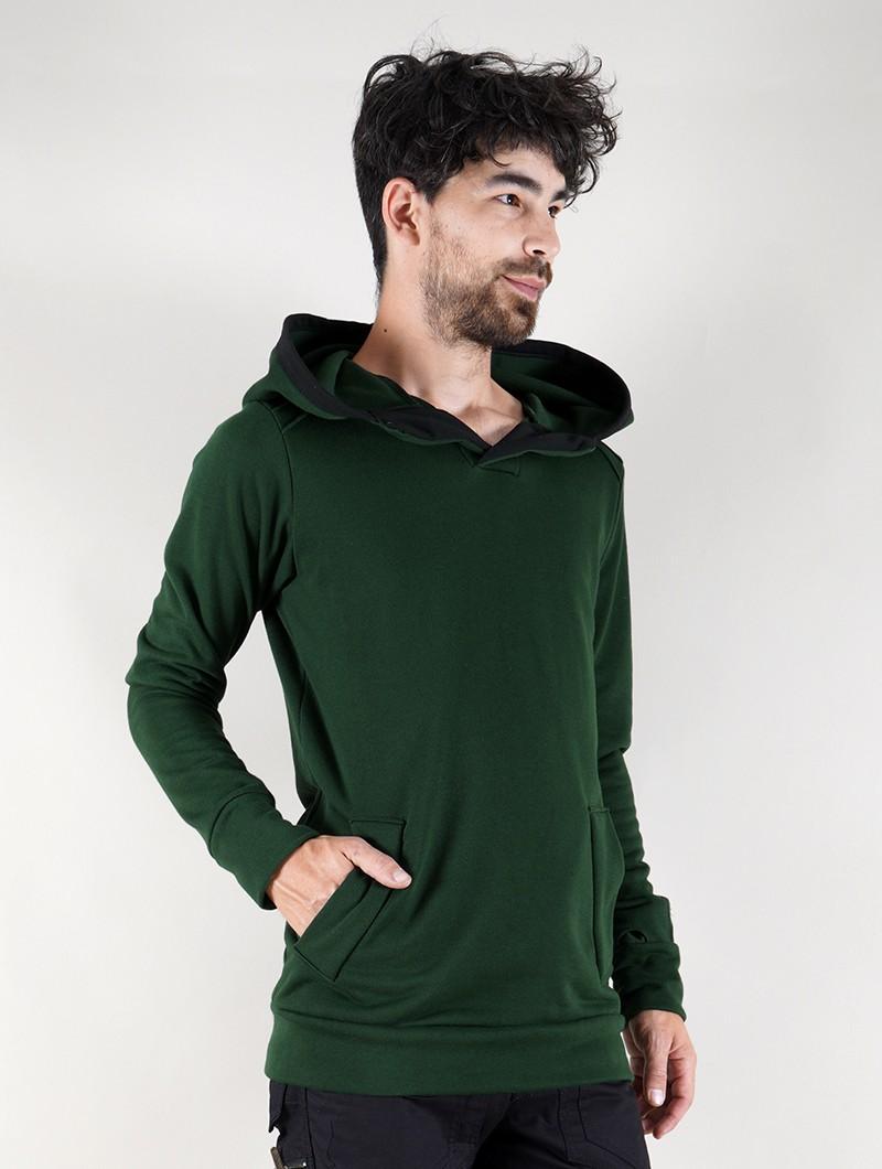 """Sudadera \""""Sphynx\"""", Verde"""