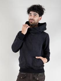 "Sudadera con capucha \""Reaper\"", Negro industrial descolorido"