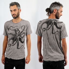 "Sure \\\""Octopus\\\"" T-shirt, Mole"