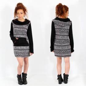 "\""Suwanna Awut\"" dress, Black"