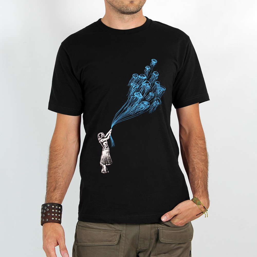 "T-shirt ""flying medusa\"""