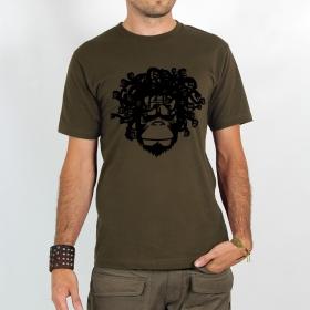 "T-shirt \""medusa monkey\"""