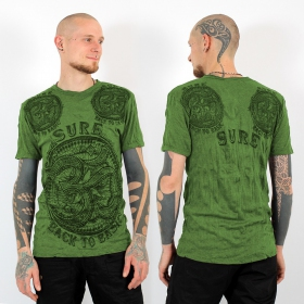"T-shirt \""Ohm\\\"", Green"