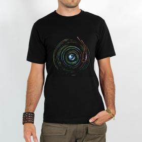 "T-shirt \""planet record\"""