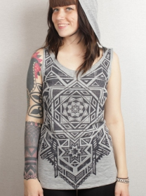 "T-shirt plazma \""lakshmi\\\"", grey"