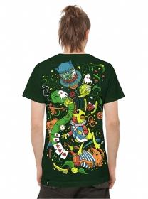"T-shirt PlazmaLab \\\""Aliza\\\"", Green"