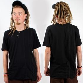 "T-shirt psylo \\\""serial tee\\\"", black"