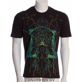 "T-shirt Public Beta ""Androids\"", Black"