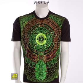 "T-shirt UV Public Beta ""Vibe UV\"", Black"