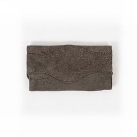 Tabaquera Kavatza, marrón con franja trasera
