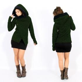 "\\\""Tibba\\\"" Coat, Green"
