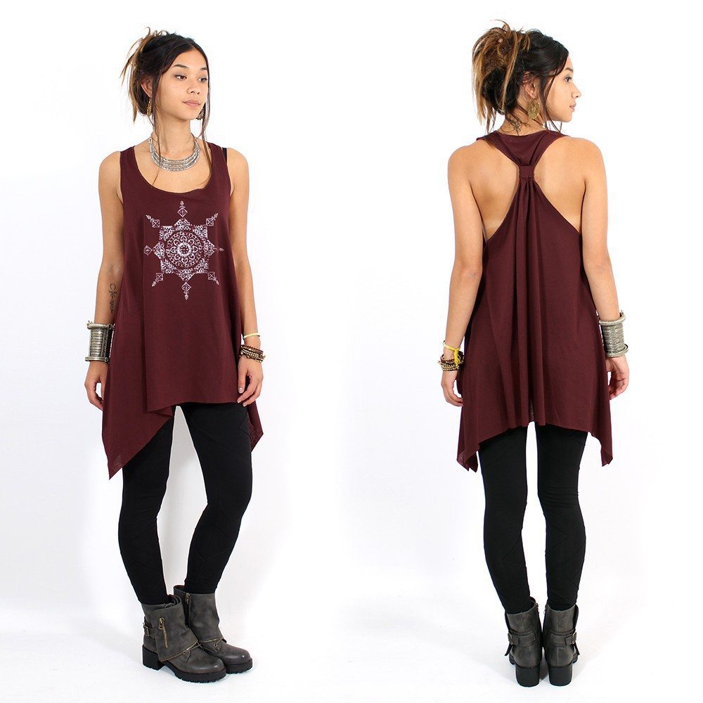 ""\\""""Toonz Mandala\"""" knotted tunic, Wine and silver""1000|1000|?|en|2|0c15fff0a09b298464077553b0914778|False|UNLIKELY|0.3574364185333252