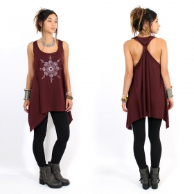 ""\\""""Toonz Mandala\"""" knotted tunic, Wine and silver""280|280|?|en|2|bf9fa796f97320d564edeab5a75d9c06|False|UNLIKELY|0.35558438301086426