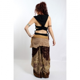 "Top liloo \""lace\\\"", black-brown"