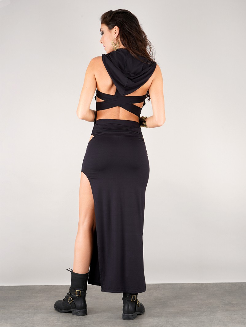 """Top liloo \""""lace\"""", Negro"""