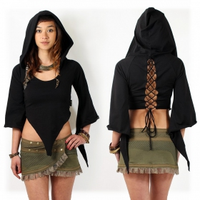 "Top Luna ""Tribal Karma\"", Black"