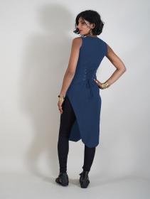 """Top túnica \""""Voodoo\"""", Azul petróleo"""