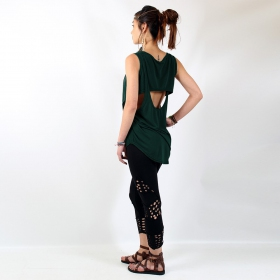"Top Witch ""Leigha\"", Teal one size"