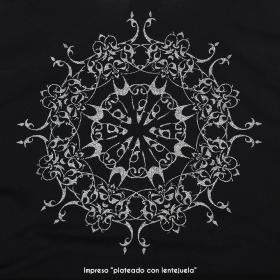 """Tunica con nudo """"Snowflake Mandala"""""""