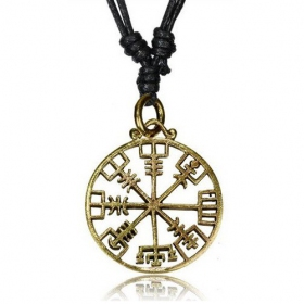 "\""Vegvisir\\\"" necklace"