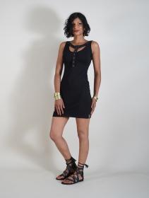 "Vestido \""Andromeda\"", Negro"