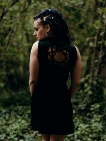 "Vestido \""Athena\"", Negro"