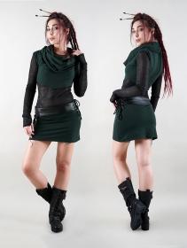 "Vestido \""Azmiyäa\"", Verde pato"