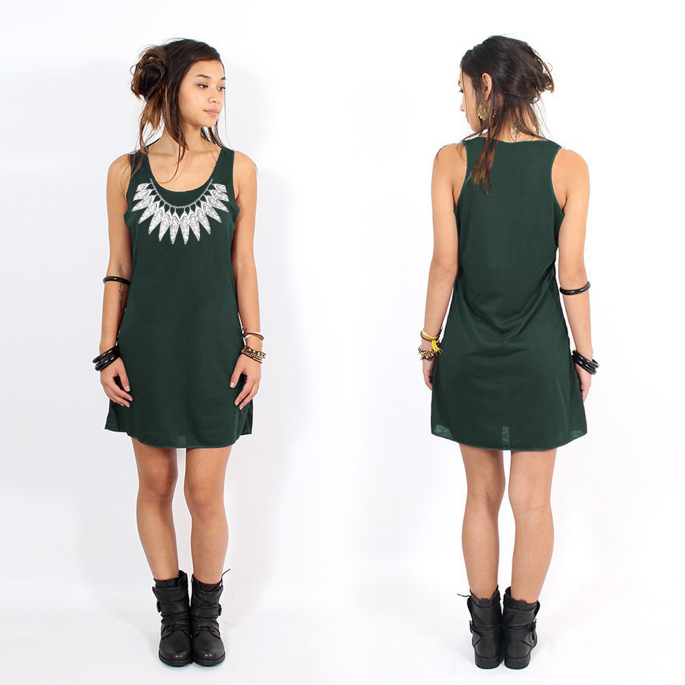 "Vestido ""Feather neck\"""