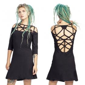 "Vestido \""Gaia\"", Negro"