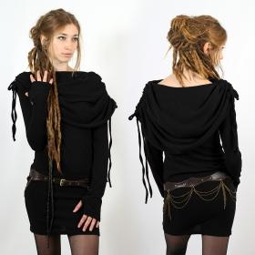 "Vestido \""Leina\"", Negro"