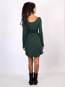 "Vestido \""Mystic\"", Verde pato"