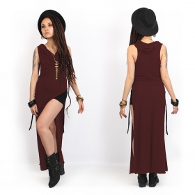 """Vestido \""""Nephilim\"""", Burdeos"""