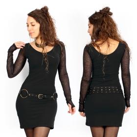 """Vestido \""""Oneïssa\"""", Negro"""