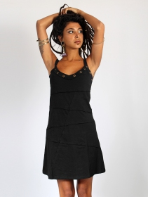"""Vestido \""""Ring\"""", Negro"""